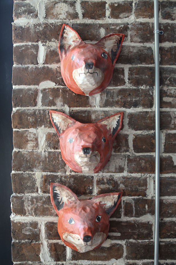 Crafts, Fox Heads, Papier-Mache, Paper Mache, Libbie Summers, DIY Animal Busts, A food-inspired life, Foxes, Fox