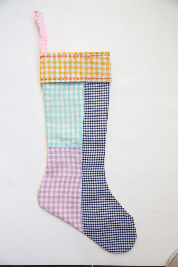 Holiday Stockings, Christmas Stockings, Libbie Summers, Holiday Crafts, Sewing, Gingham,