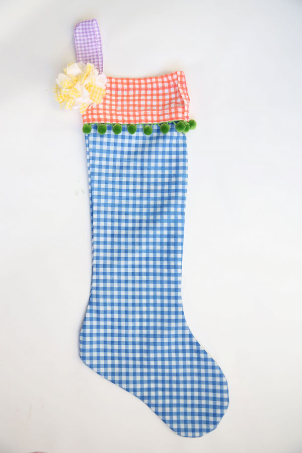 Holiday Crafts, Gingham, Christmas Stockings, Libbie Summers