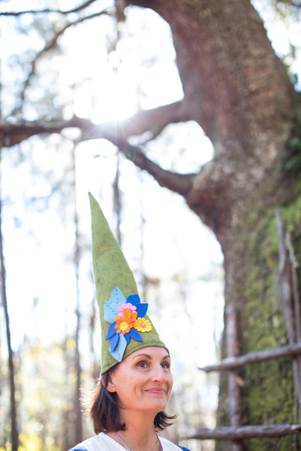 Gnome, Gnome outfit, Libbie Summers, A Food-Inspired Life, Hat, Felt