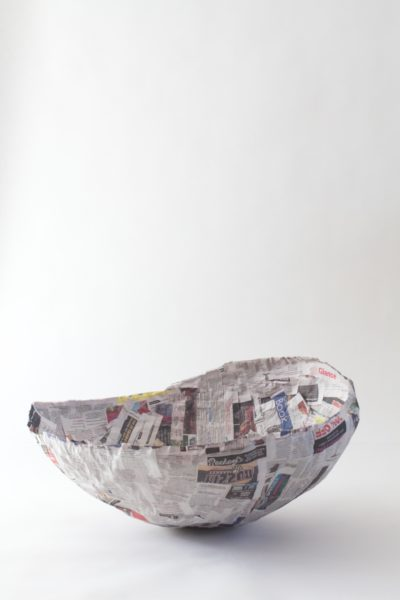 Libbie Summers, How To, Papier-Mâché, Mushroom, Giant, Giant Mushroom, DIY