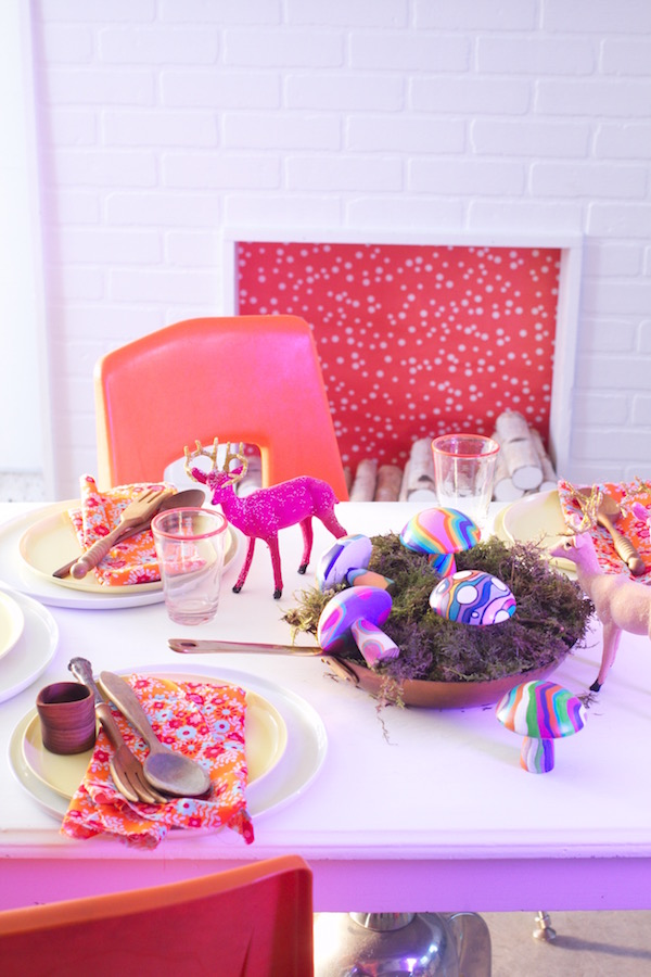 Mushroom Art, Painted Wood, Painted Mushrooms, Centerpieces, Libbie Summers, A food-inspired life