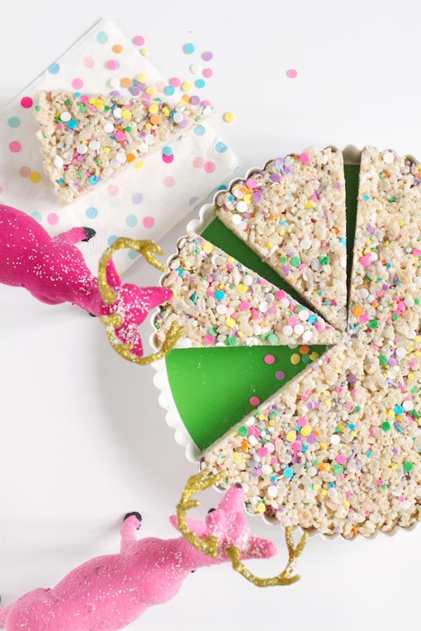 Sprinkle Tarts, Sprinkle Desserts, Crispy Rice Desserts, Libbie Summers, #libbiesprinkles, A food-inspired life