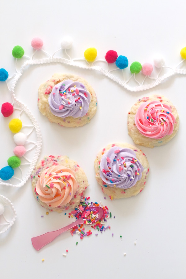 Cookie Recipes, Sprinkle Cake Cookies, Hog Wild Sprinkles, Libbie Summers, A food-inspired life,