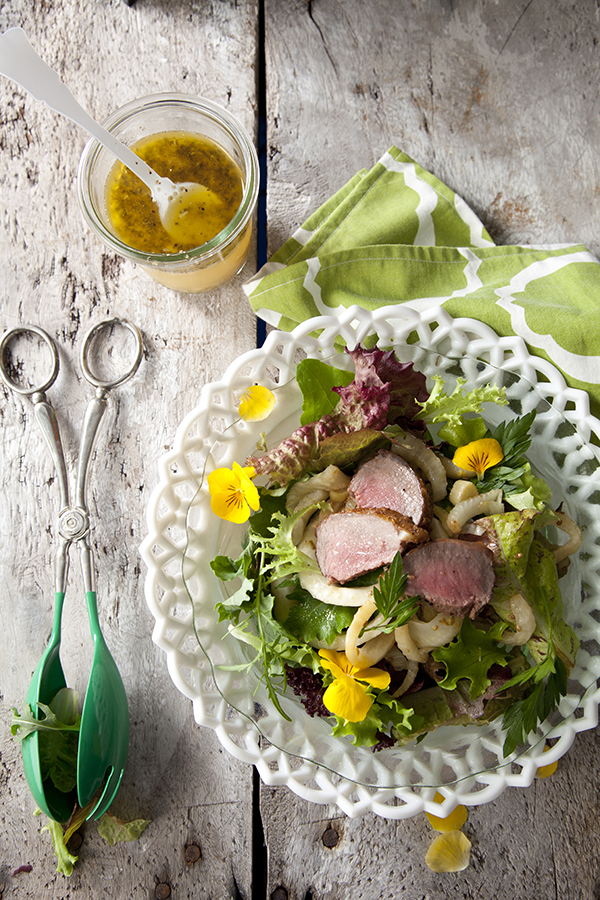 Spring Salads, Edible Flowers, Lamb Recipes, Libbie Summers, Chia Chong, Brenda Anderson, Fennel Dressing