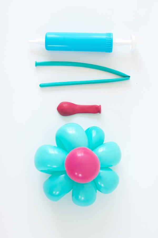 Balloon Flower, Balloon Air Pump, Party Supplies, DIY making Balloon Animals, Libbie Summers