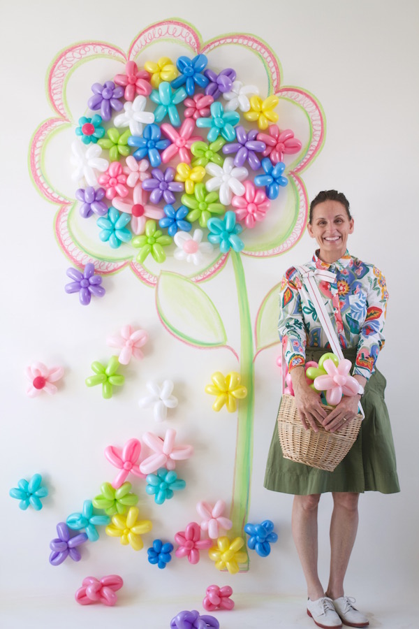 Balloon Flowers, Making a Balloon Flower, Libbie Summers, A food-inspired life, Party Decoration, Kid's Parties, Fun Crafts, Parties