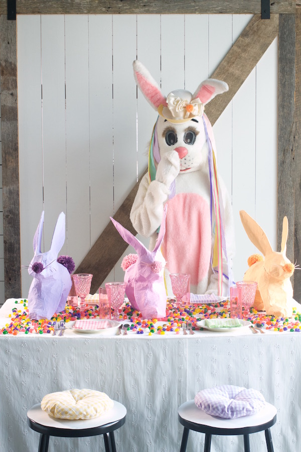 Easter, Easter parties, Libbie Summers, A food-inspired life, Bunny Costume, Libbie Summers