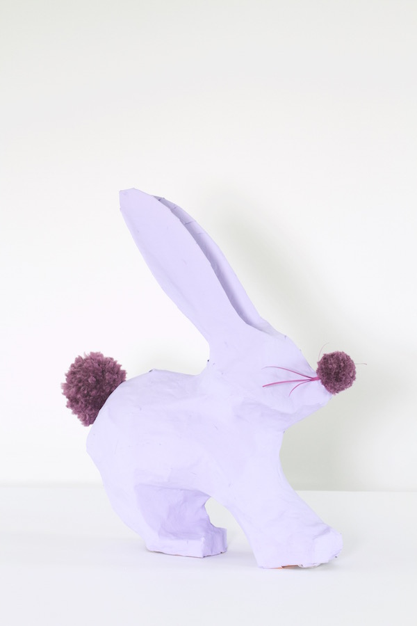 Easter Crafts, DIY Easter, Easter Tablescape, A food-inspired life, Libbie Summers, Easter Bunnies, Pom Poms