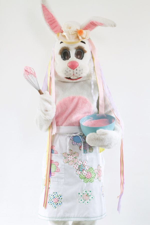 Libbie Summers, A Food-Inspired Life, Easter, Easter Bunny, Apron, DIY, Craft, Easter Craft Ideas