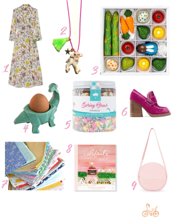 Libbie Summers, A Food-Inspired Life, LibbieLoves, Easter Picks, Fashion, Accessories, Chocolate, Eggs, Sprinkles, LibbieSprinkles, Shoes, Fabric, Books, Bags,