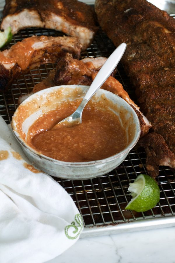 Libbie Summers, A Food-Inspired Life, Hot Guava Dipping Sauce, Dipping Sauce, Ribs