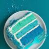 Ombre Cake, Summer Desserts, Libbie Summers Desserts, #libbiesprinkles,