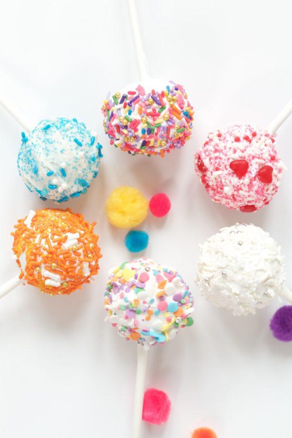 Cake Pops, #libbiesprinkles, Sprinkles, Fun Desserts, Kid's Desserts