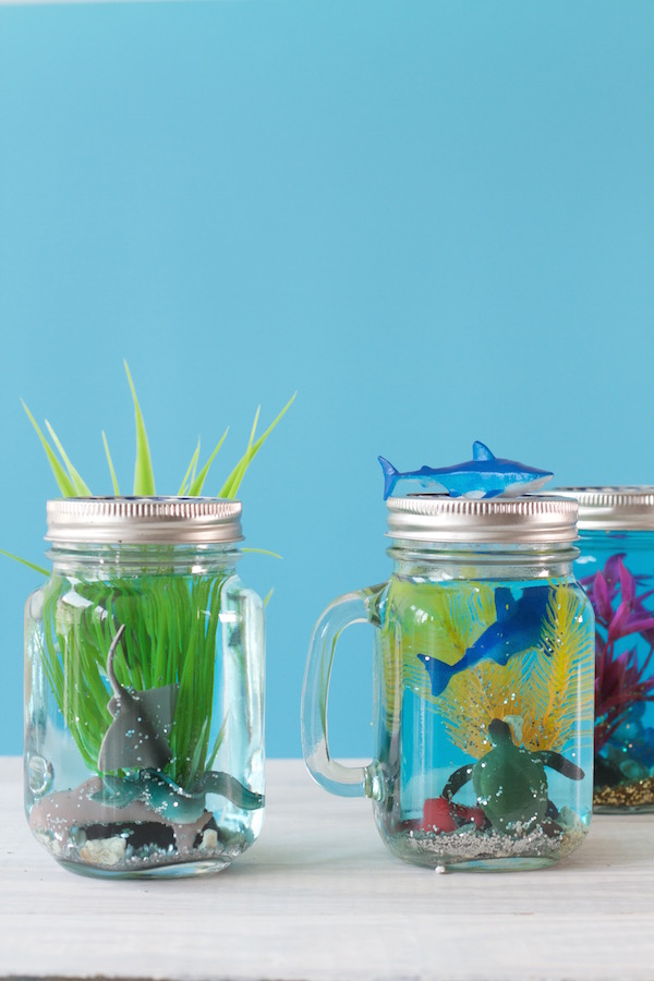 Kid's Crafts, Summer Crafts, Libbie Summers, Fun Crafts, Sea Animals, Snow Globes, A food-inspired life