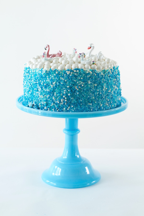 LibbieSprinkles, Cake Decorating, Easy Cake Decorating, Swimming Pool Cake, A food-inspired Life, Summer Desserts, Cake Decorating, Party Desserts, Summer Desserts, Easy Cake Decorating, Swim at Your Own Risk Sprinkles, #libbiesprinkles