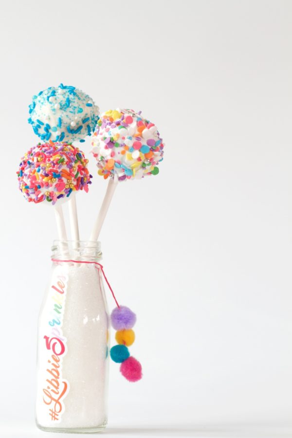 Libbie Summers, A Food-Inspired Life, Cake Pops, Cake, Sprinkles, Cute Ideas, For the Kids,