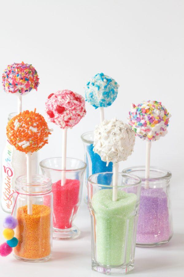 Cake Pops, Kid's Desserts, Fun Desserts, Libbie Summers, #libbiesprinkles, Sprinkles,
