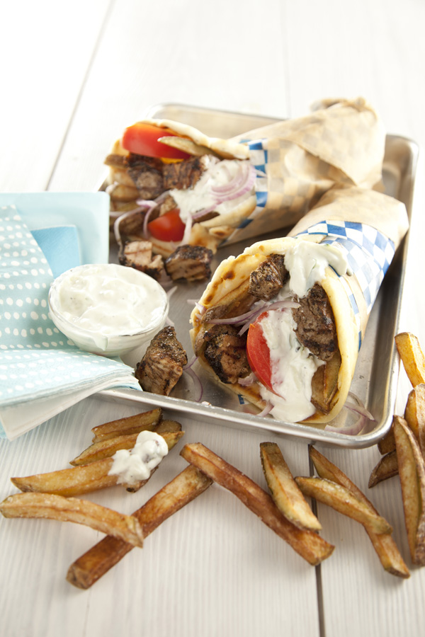 Libbie Summers, Pork, Pork Belly, Gyros, Tzatziki, Greek, Pita, The Whole Hog Cookbook, Greek Recipes,