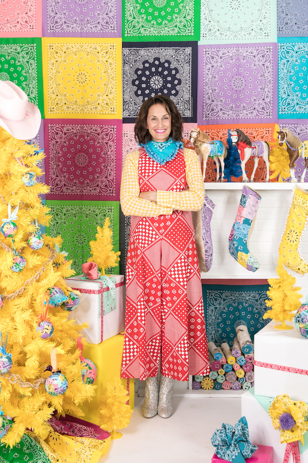 Bandana print jumpsuit, Libbie Summers Wears, Bandana Style, Bandana Holiday Style, Holiday Style
