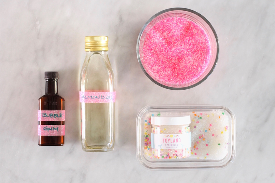 Sugar Scrub, Gifts from the Kitchen, Valentine's Day Gifts, Libbie Summers Gifts, Sprinkle Sugar Scrub,