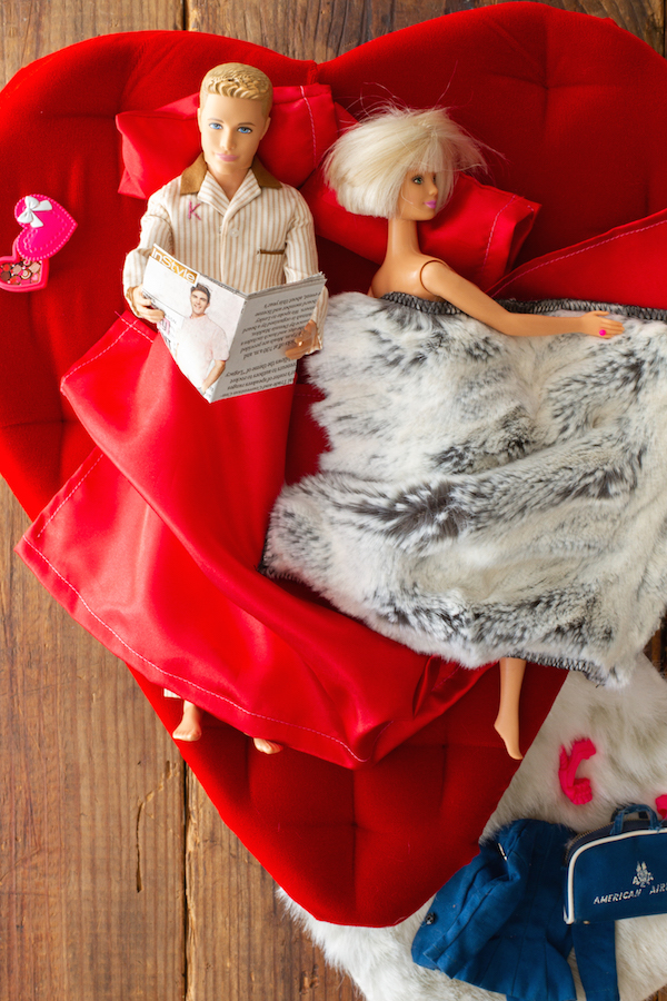 Ken and Barbie, Barbie Dolls, Ken Dolls, Fun with Ken, Instyle Magazine, Valentine's Day