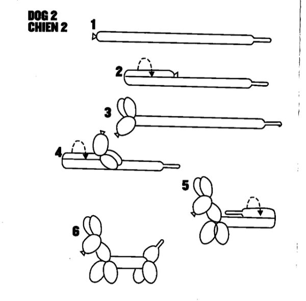 How to Make a Balloon Dog, Graphic, Libbie Summers, Balloon Dogs,