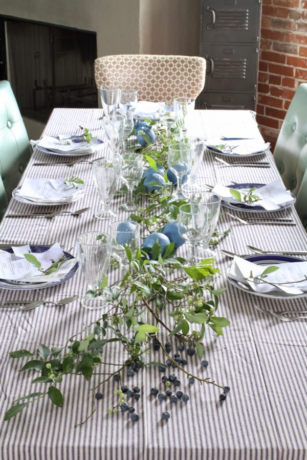 Blueberries, A food-inspired life, Centerpieces, DIY, Crafts