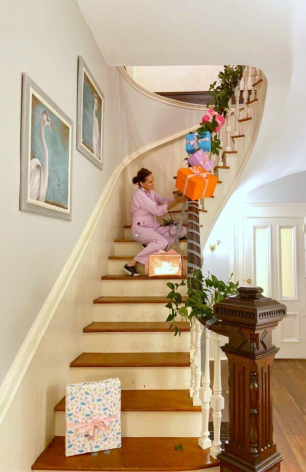 Garland, Holiday Garland, DIY, Libbie Summers, Holiday Decorating