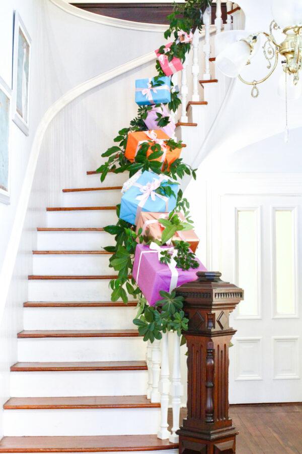 Garland, Holiday Garland, Colorful Holiday Garland, Libbie Summers, A food-inspired Life, Gift Garland,