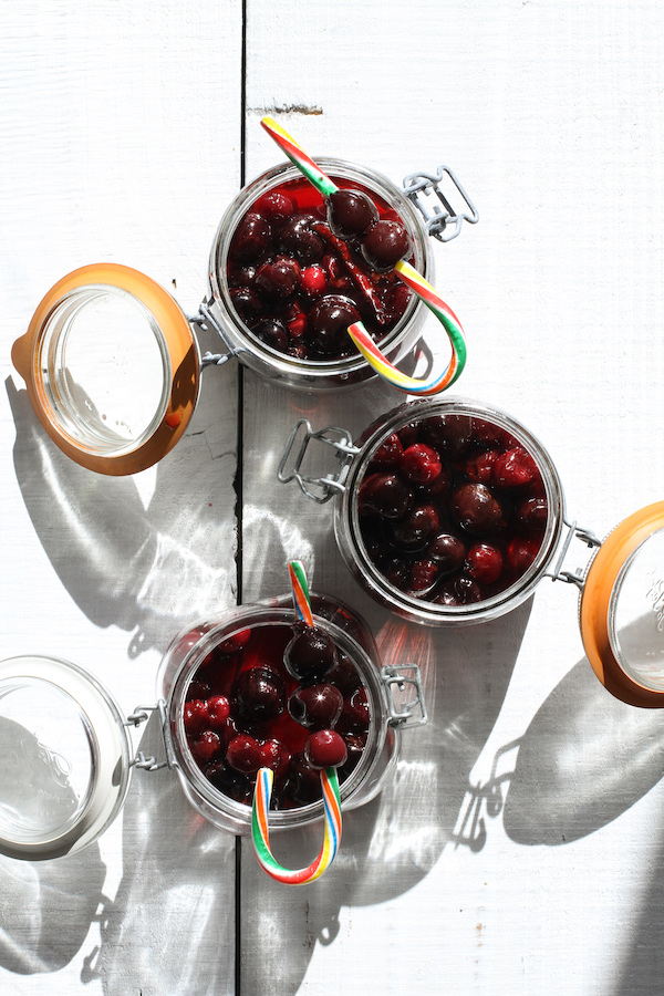 Spiced Cherries, Cocktail Recipes, Libbie Summers Recipes, Entertaining Ideas, Last minute Gift Ideas, Libbie Summers Entertains, Cherries, Rum, Peppers