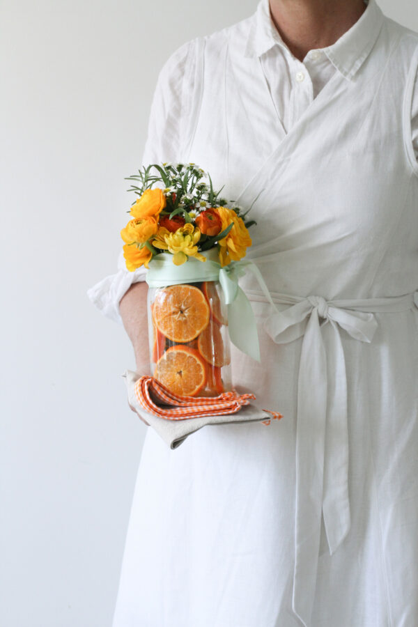 Easy Arrangements, Sliced Orange Centerpiece, Easy Centerpieces, Libbie Summers Entertains, A food-inspired life