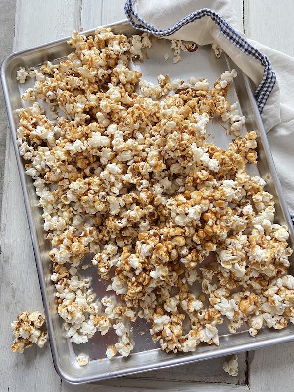 Caramel Popcorn, Libbie Summers Recipes, Snack Recipes, How to make popcorn, Popcorn Recipes, Sweet and Salty Recipes, Brown Sugar, Shortstack Editions