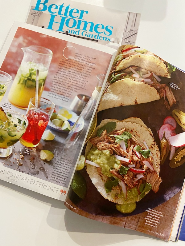 Pork Carnitas, Better Homes and Gardens, Food Styling, Food Photography, Pati Jinich Recipes,
