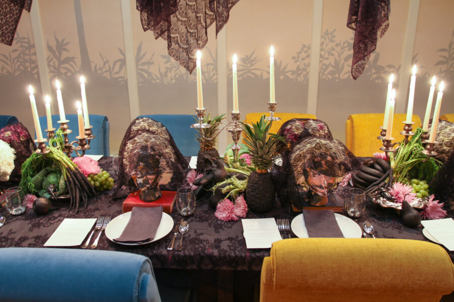 halloween Party, Grown Up Halloween Party, Beetlejuice Party Centerpieces, Libbie Summers Events,