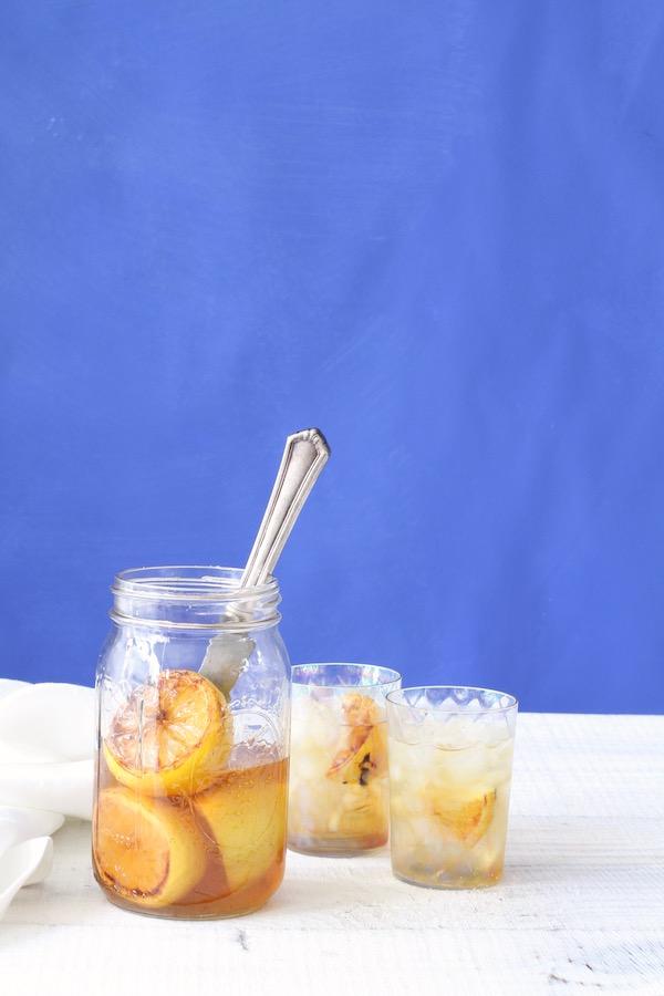 Lemonade Recipe, Libbie Summers Recipes, Brown Sugar Lemonade, Shortstack Editions, Brown Sugar